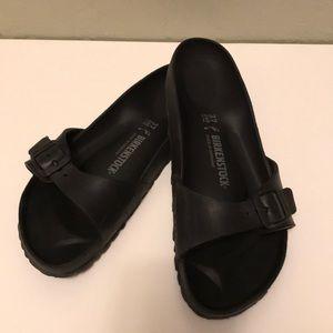 Birkenstock rubber sandals